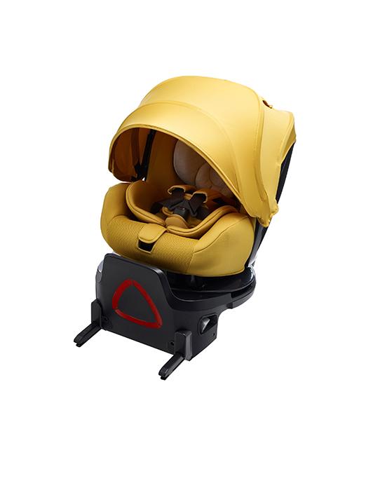 【takataタカタ正規販売店】タカタ チャイルドガード1.0Child Guard1.0ゴールドイエロー【takata回転式チャイルドシート・ISO-FIX車両限定】