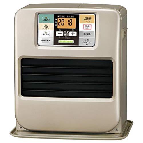 【 送料無料 ライン 】コロナ リモコン 石油ファンヒーター 木造9畳 コンクリート12畳まで 暖房器具 シャンパンゴールド FH-SR3319Y-N