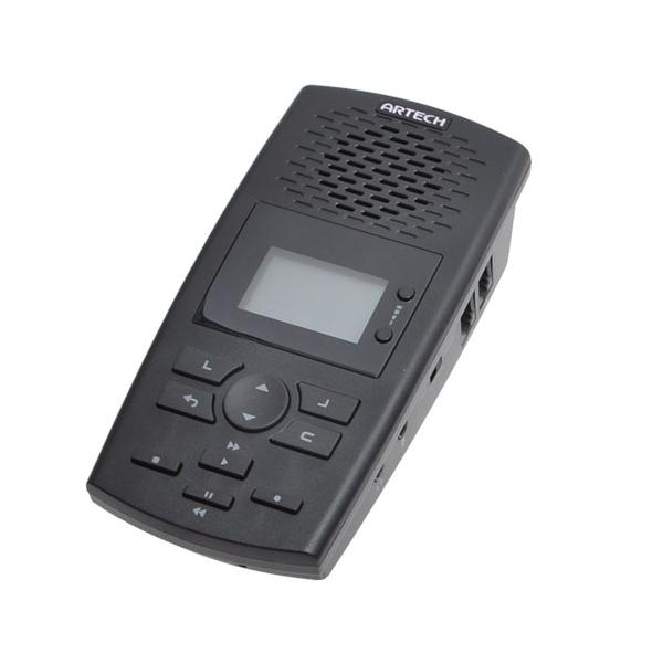 ビジネスホン対応 電話 録音 電話機に後付けできる 通話 自動録音 再生機 ANDTREC2