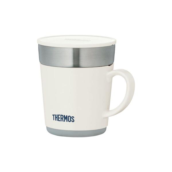 サーモス 保温保冷 コップ タンブラー 保温マグカップ OUTLET SALE JDC-241 大特価 WH ホワイト 240ml