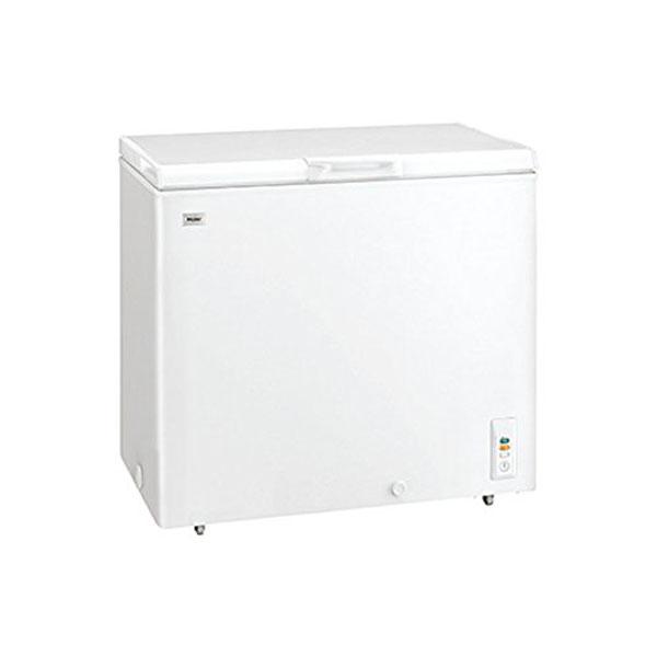 ハイアール 冷凍庫205L 上開き直冷式 JF-NC205F-W