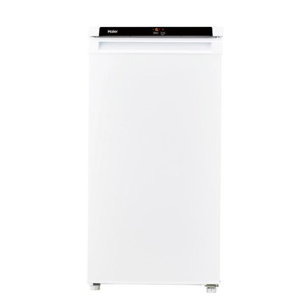 ハイアール 冷凍庫前開き直冷式 JF-NU102B-W