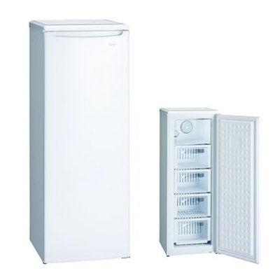 冷凍庫 ファン式 冷凍ストッカー 114L スリム 開梱 設置込み
