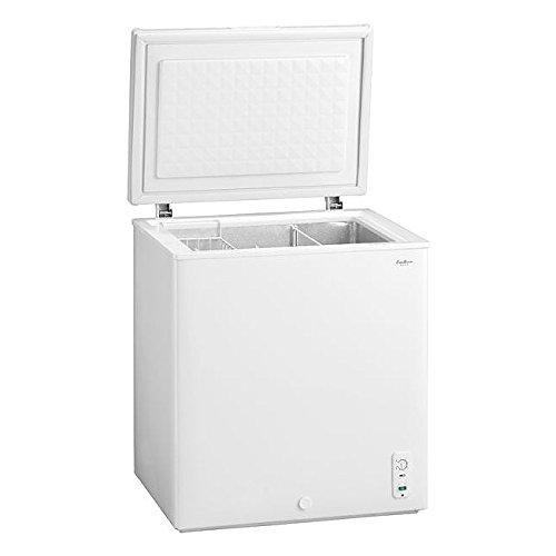 送料無料 開梱設置付 冷凍庫 上開き 冷凍ストッカー 大型 142L スリム