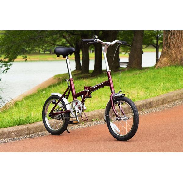 Classic Mimugo FDB16 / クラシックミムゴ 16インチ折畳自転車 シングルギア