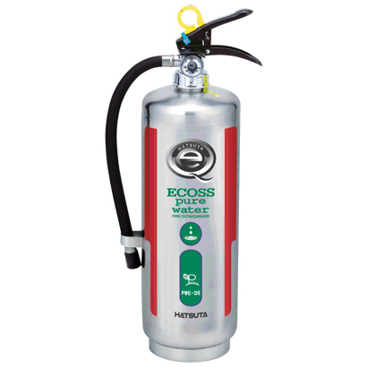 送料無料 消火器 ピュアウォーター 水消火器 3型 蓄圧式 ステンレス製 PWE-3S