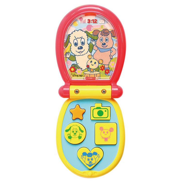 ワンワン 携帯電話 ボタン おしゃべり かわいい 子供 プレゼント 卓出 ギフト 贈り物 誕生日 お祝い 携帯 たくさん キッズ カラフル スマホ おもちゃ 正規品 タッチフォン ワンワンとうーたん ワンワングッズ ワンワンのけいたいでんわ