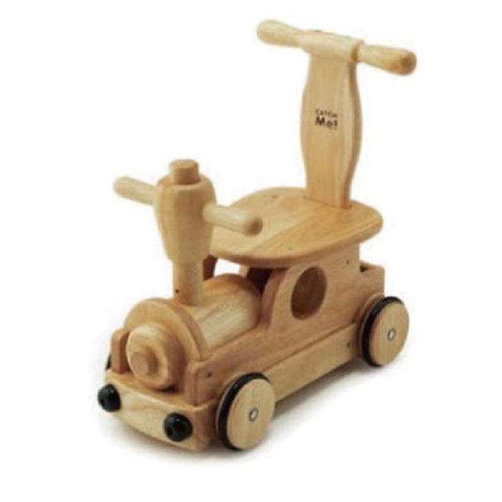 \クーポン発行中/天然木 汽車タイプ 押車 よちよち 歩き 子供 幼児 サポート パズル 乗り物 男の子 女の子 野中製作所 手押し 乗用玩具 2個セット ギフト おもちゃ 室内