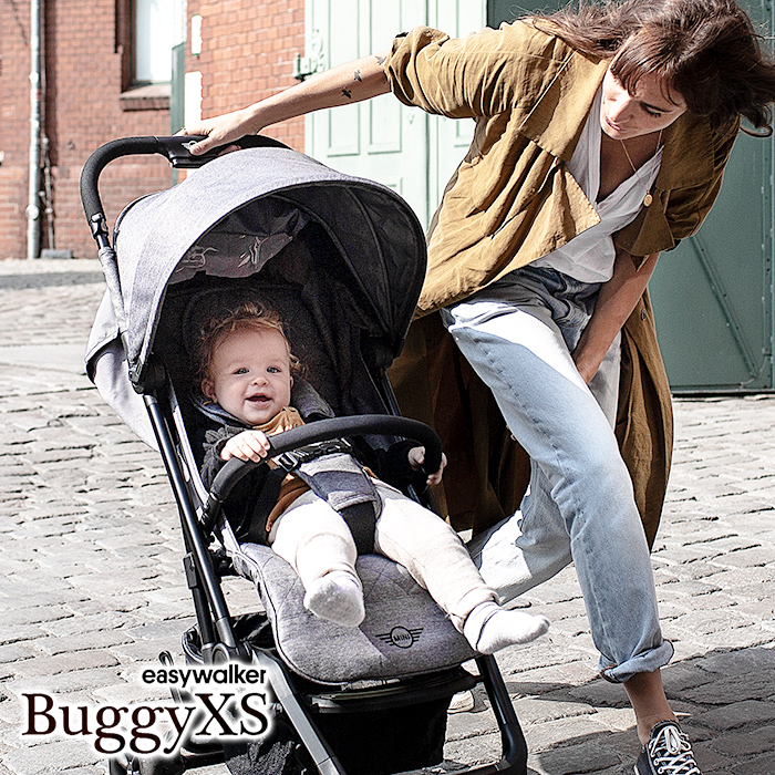 【正規販売店】【専用トランスポートバッグプレゼント】MINI by easywalker Buggy XS ベビーカー ミニ バイ イージーウォーカー バギー XS 【mini buggy xs 0ヶ月~3歳 新生児 赤ちゃん 子ども 軽量 コンパクト おでかけ 送料無料】【10P】