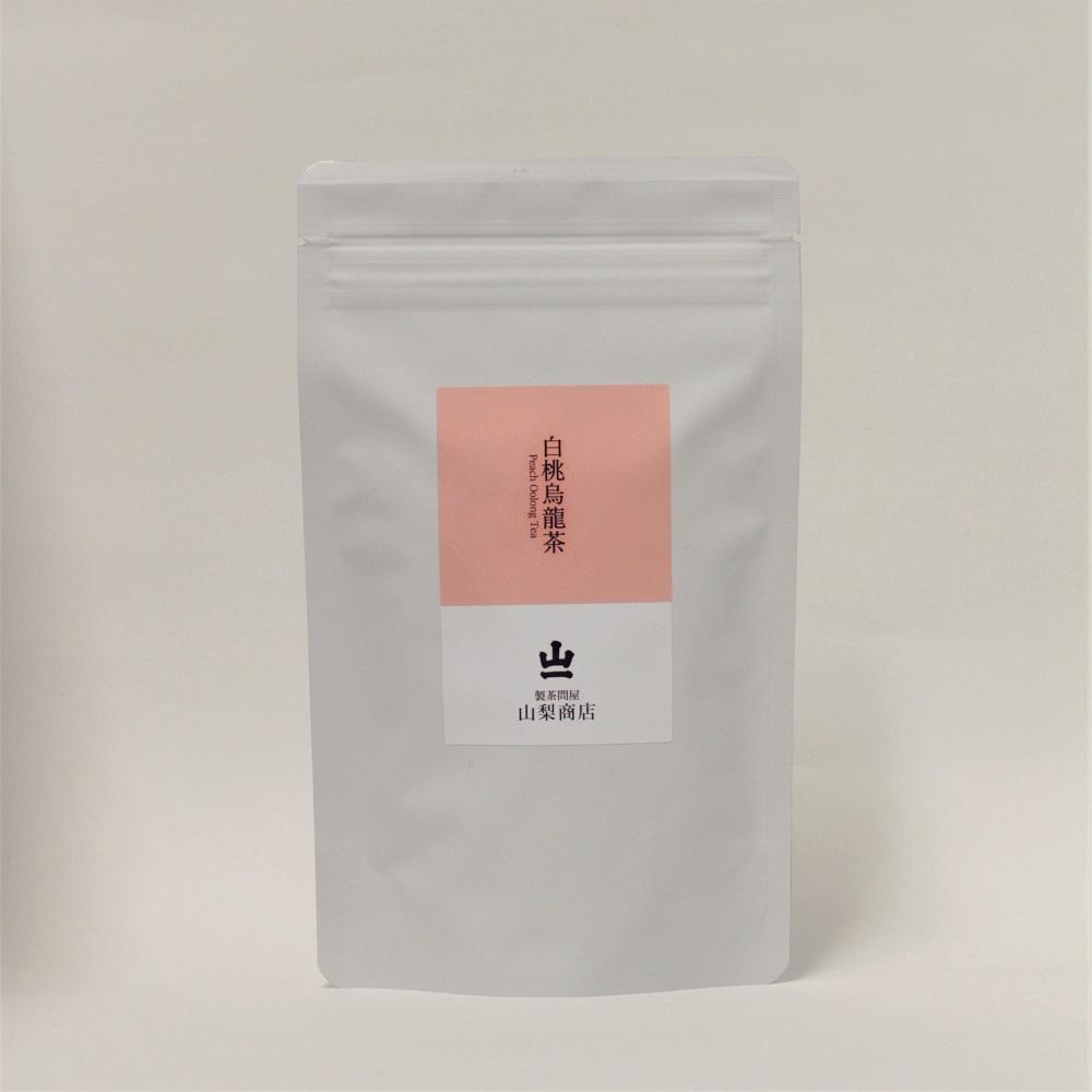 peach oolong tea白桃のジューシーな甘い香りと、凍頂烏龍茶の爽やかな味わい 【白桃烏龍茶 リーフ 70g】