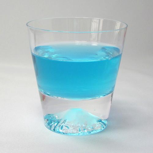 富士山玻璃杯鎖頭玻璃杯田島玻璃
