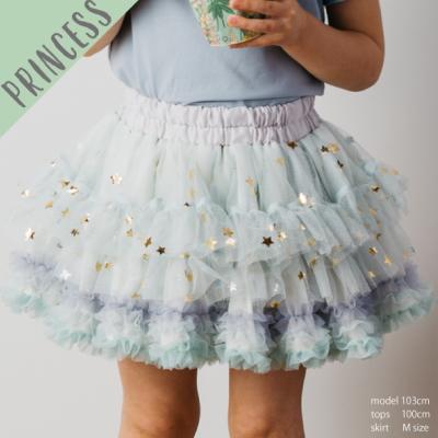 きらきらお星様のチュチュプリンセス 未使用 本日限定 マーメイドミント 生まれながらのフェアリーちゃんにも panpantutu パンパンチュチュ Lサイズ プレゼント ギフト ベビー 出産祝い お祝い 赤ちゃんベビー服 可愛い キッズ スカート 子供服