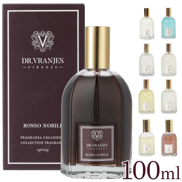 好きなところにシュッと一吹き スプレータイプのフレグランス Dr. Vranjesならではの上品な香りがお部屋を包みこみます Vranjes Diffuser ドットール 100ml ロッソ フレグランス 内祝い ヴラニエス ルームフレグランススプレー ロッソノービレ 人気 おすすめ