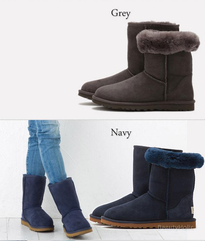 ugg classic short navy