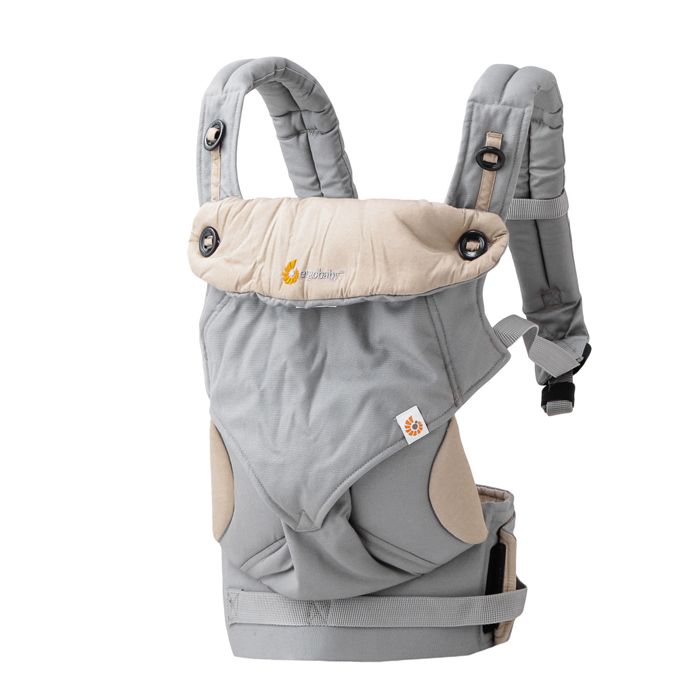 ERGObaby ERGO baby four positions threesixty 360 baby carrier gray