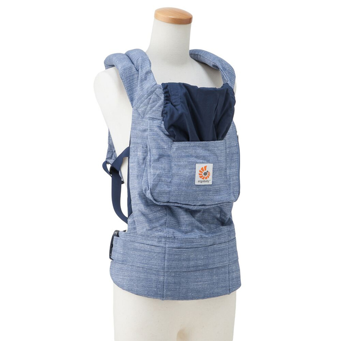 ergo baby carrier vintage blue
