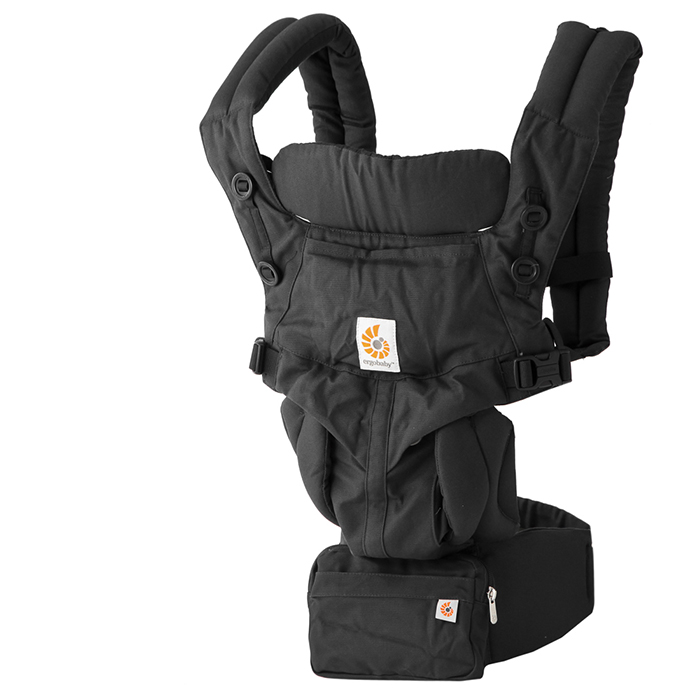 【全品15%オフクーポン】 ERGO baby エルゴベビー 抱っこ紐 オムニ360 ピュアブラック Omni 360 Pure Black エルゴ