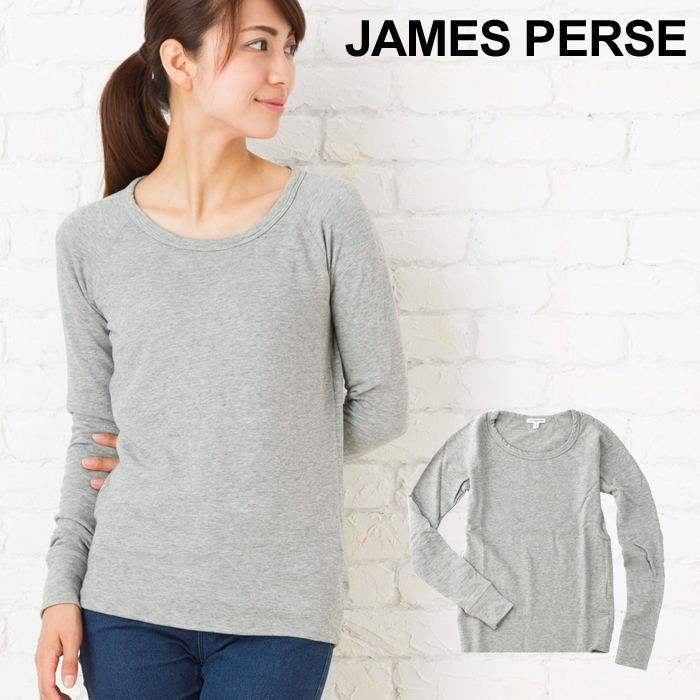 Professional Clearance Low Cost Womens Classic L/S Raglan Sweatshirt James Perse Cheap Prices Reliable Cheapest Price Cheap Price 7YVK0PvhfN