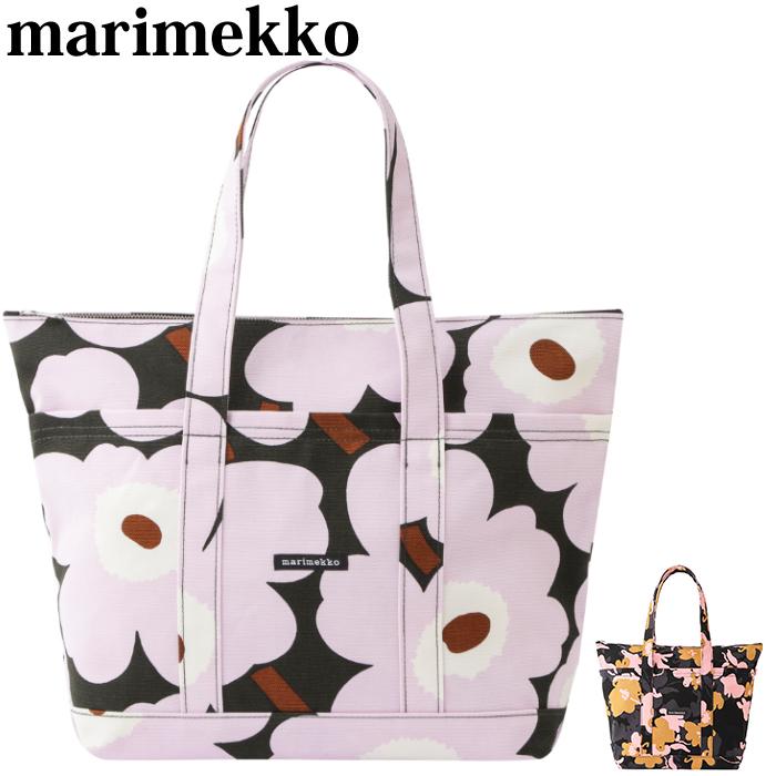 【全品15%オフクーポン】 Marimekko マリメッコ トートバッグ Uusi Mini Matkuri Helokki バッグ