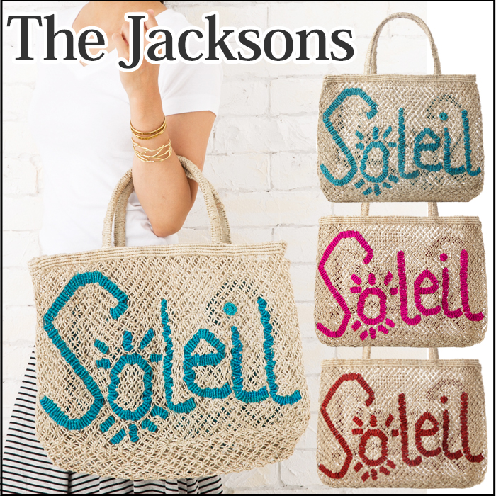 The Jacksons the Jacksons Word Bag Small size bag tote bag A4 size bag jute bags