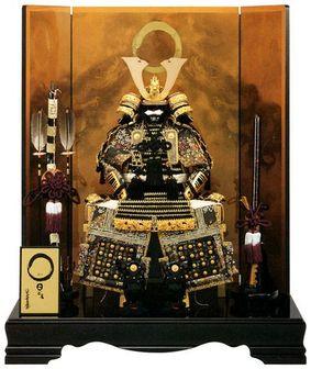 【期間限定エントリーで最大P14倍】[五月人形]日ごま 鎧平飾り 昇龍(ショウリュウ) 【61YK502】【鎧平飾り】