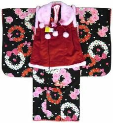 御祝着 被布セット  SEIKO MATSUDA kimono KIDS 3歳