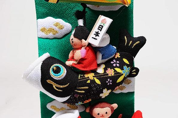 桃太郎鯉のぼり(特小)【室内鯉のぼり】【室内飾り】【つるし飾り】