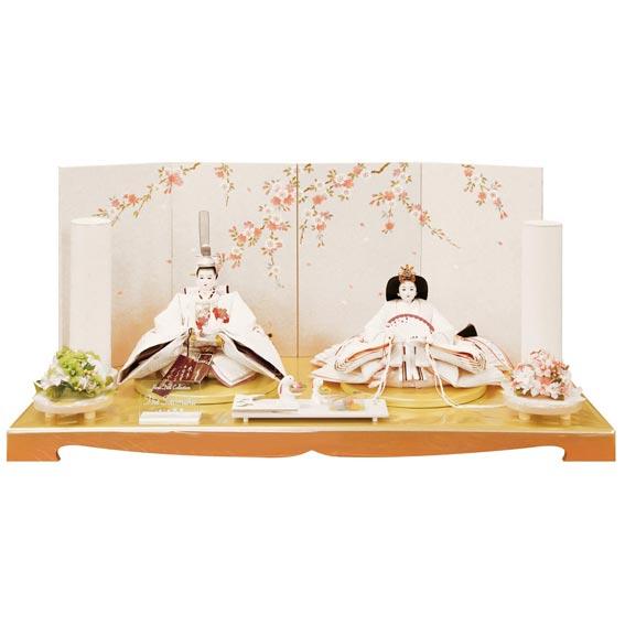 雛人形 白無垢 shiromuku 親王飾り