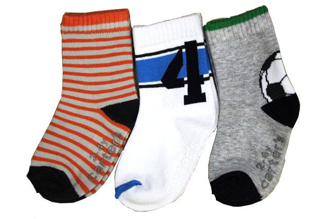カーターズ【Carter's】(カーターズ 靴下) 靴下3足セット☆スポーティーボーイ【あす楽対応】【ラッピング不可】