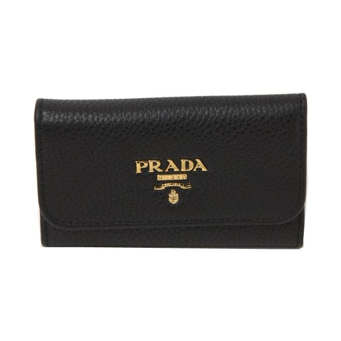 プラダ キーケース PRADA QWA F0002 SAFFIANO METAL 6連キーケース 1pg222 nero