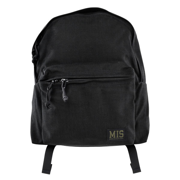 【MIS】(エムアイエス) DAY PACK CORURA 1000 / デイパック (ブラック) 渋谷 バックドロップ 渋谷の老舗アメカジショップ the back drop コーデュラナイロン MIL-SPEC ミルスペック