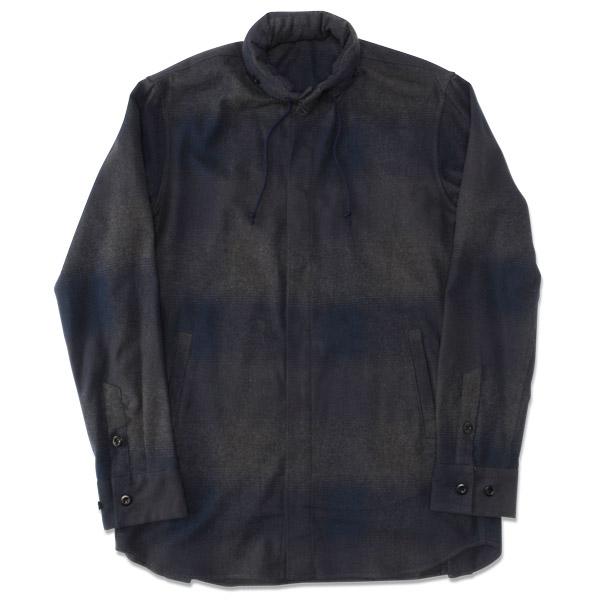 【40%OFF】【T.N JACK】(ティーエヌジャック) Check Shirts Jacket (ネイビー) / チェックシャツ ジャケット メンズ メンズ ジャケット アメカジ渋谷 バックドロップ 渋谷の老舗アメカジショップ back drop 日本製 メイドインジャパン 送料無料