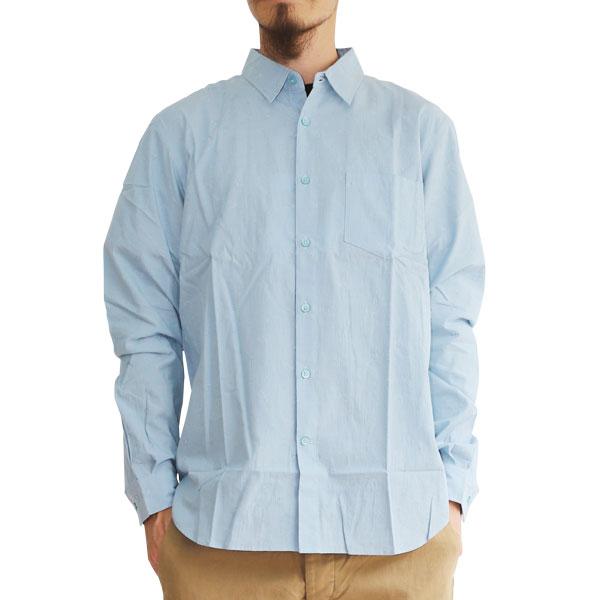 【T.N JACK】(ティーエヌジャック) Paisley Shirt (ブルー) / ペイズリーシャツ メンズ アメカジ渋谷 バックドロップ 渋谷の老舗アメカジショップ back drop 日本製 メイドインジャパン 送料無料