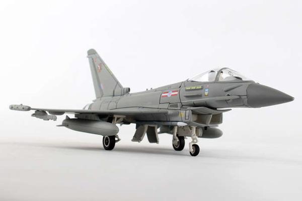 コーギー 1/72 ユーロファイター タイフーン FGR.4, ZJ950/C 'Charity', RAF No.29 Squadron, 1435 Flight, RAF Mount Pleasant, Defence of the Falkland Islands (AA36408)