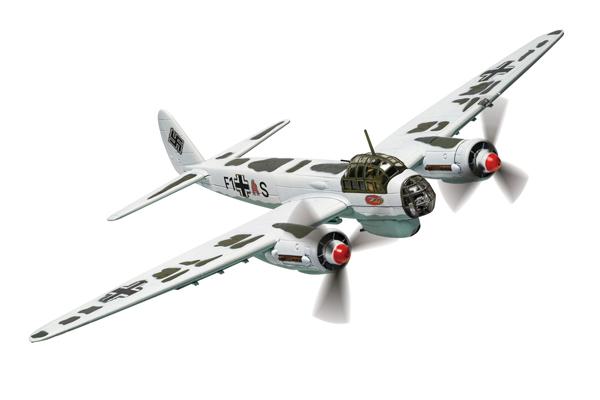 スタンド付属 飛行姿勢/駐機姿勢 選択展示可能  コーギー 1/72 ユンカース Ju88 A-5 バルバロッサ作戦 1941.12月 ロシア (AA36713)【予約:2021年8月以降発売予定】通販 プレゼント 飛行機 航空機 完成品 模型