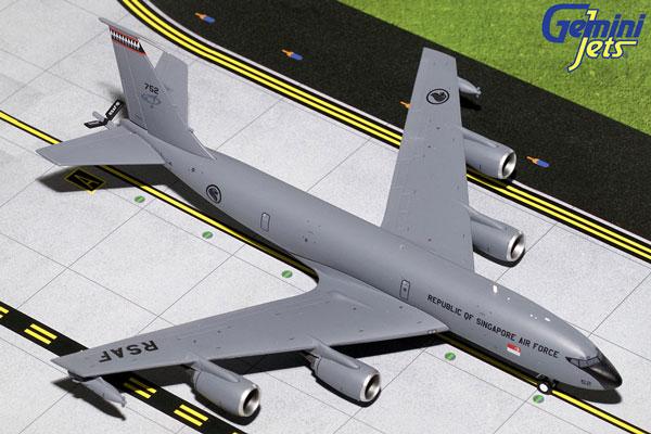 Gemini200 1/200 KC-135R ストラトタンカー シンガポール空軍 752 (G2SAF746) 通販 プレゼント 航空機 飛行機 完成品 模型