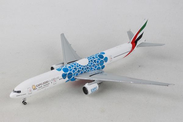 Gemini Jets 1/400 エミレーツ航空 B777-300ER A6-EPK Expo2020 BLUE (GJUAE1834) 通販 プレゼント 飛行機 航空機 完成品 模型
