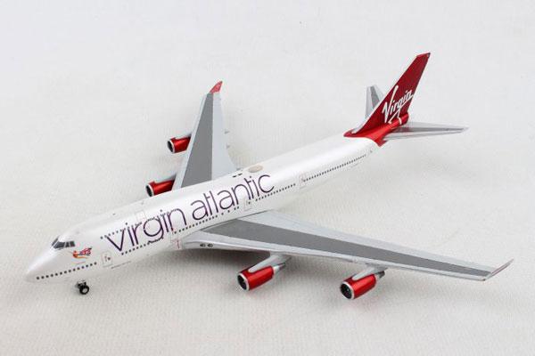 Gemini Jets 1/400 ヴァージンアトランティック航空 B747-400 G-VBIG (GJVIR1799) 通販 プレゼント 飛行機 航空機 完成品 模型