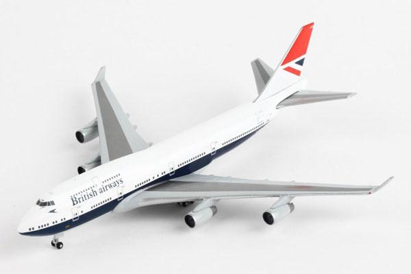 ヘルパウィングス 1/500 ブリティッシュエアウェイズ B747-400