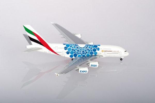 ヘルパウィングス 1/500 エミレーツ航空 A380 Expo2020 Dubai