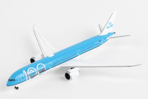 ヘルパウィングス 1/500 KLMオランダ航空 B787-10 100th Anniversary PH-BKA (HE533751)【予約:2019年12月以降】通販 プレゼント 飛行機 航空機 完成品 模型