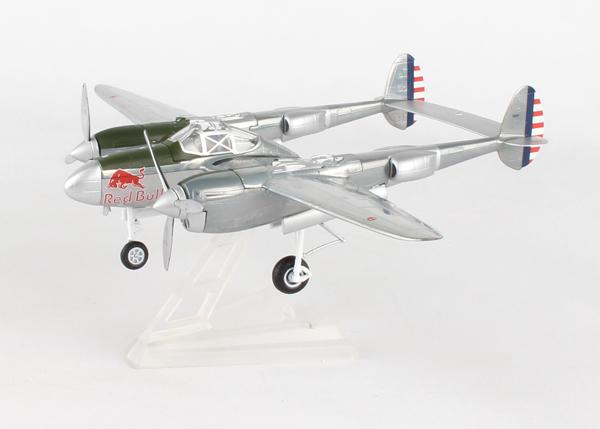 ダイキャスト製 ヘルパウィングス 1 72 P-38 新作送料無料 ライトニング FLYING BULLS 完成品 飛行機 プレゼント 航空機 送料無料お手入れ要らず HE580113 通販 模型 送料無料