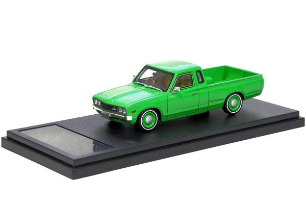 Hi-Story 1/43 日産 ダットサン トラック カスタム DX・L ローダウン (1979) グリーン  (HS188GR) 通販 プレゼント モデルカー ミニカー 完成品 模型