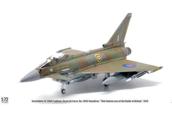 JCW 1/72 ユーロファイター RAF No.29(R) Sq