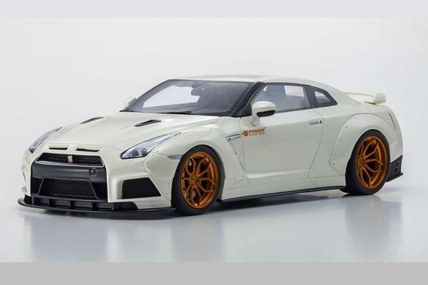『4年保証』 レジンモデル GT SPIRIT 1 18 プライア デザイン PD750WB 日産 GT-R ミニカー GTS030KJ 送料無料 モデルカー パールホワイト 時間指定不可 通販 プレゼント 模型 完成品