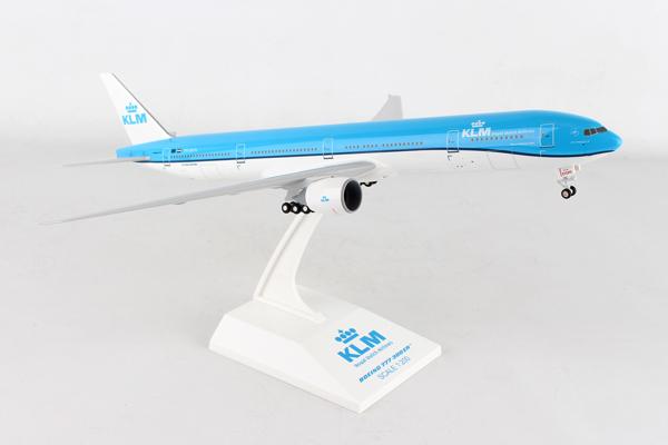 SKYMARKS 1/200 KLMオランダ航空 B777-300ER PH-BVN (SKR951) 飛行機 航空機 半完成品 模型 通販 プレゼント