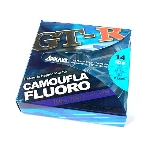 サンヨー 通販 激安◆ GT-R カモフラフロロ 7lb-10lb 永遠の定番モデル SANYO