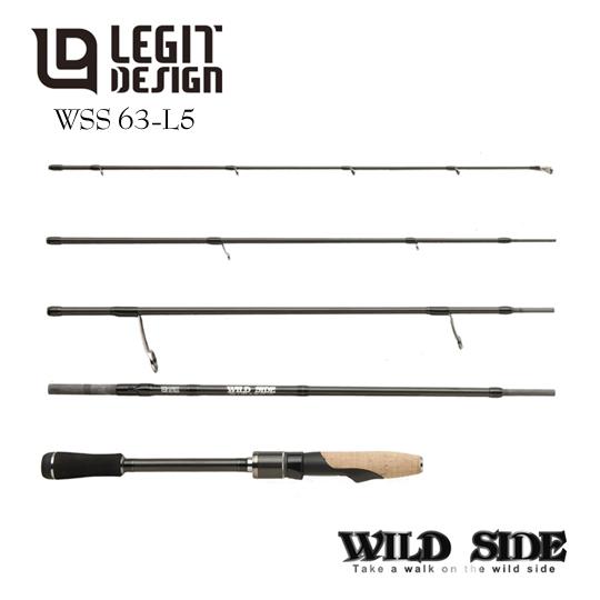レジットデザイン ワイルドサイド WSS-63L-5 マルチピースモデル