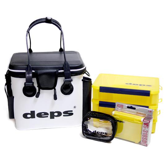 一番の 【6点セット バッカンRH】デプス バッカンRH deps ポーチSサイズ+VS-318+VS-3020NDDM×3個 deps, M-TONY:da5ac2eb --- dpedrov.com.pt