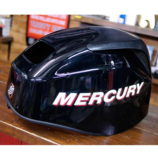 【中古品】 マーキュリー 4スト25馬力用エンジントップカウル MERCURY 【別途送料¥1080かかります】